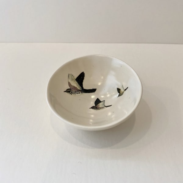 Fliff Carr, Three Birds Treasure Bowl, 2019