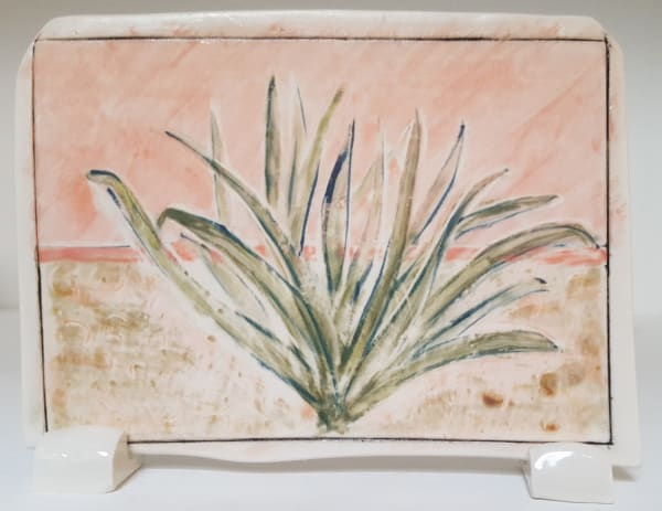 Clare Nicholls, Seaside Plant (Pink), 2020