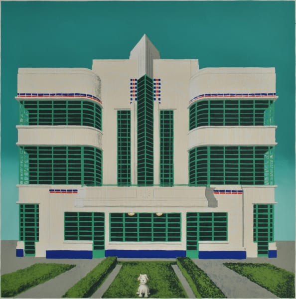 Mychael Barratt, Wes Anderson's Dog - Hoover Building