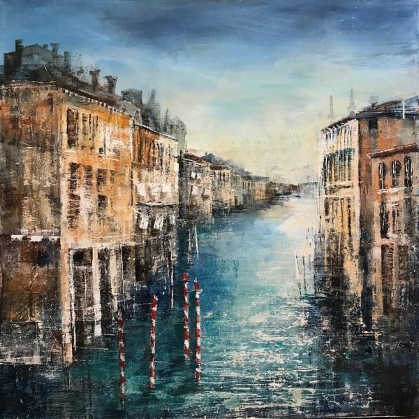 Bee Bartlett, Venetian Canal, 2019