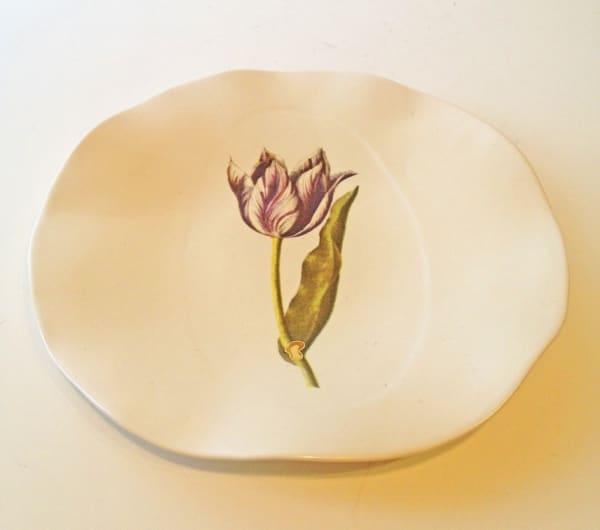Tulip Plate, Medium