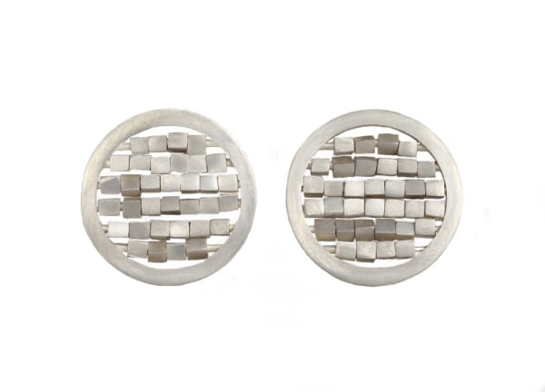 Circular Sequin Earrings