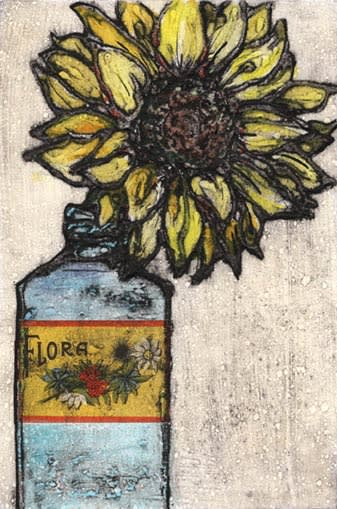 Vicky Oldfield, Sunflower In A Bottle