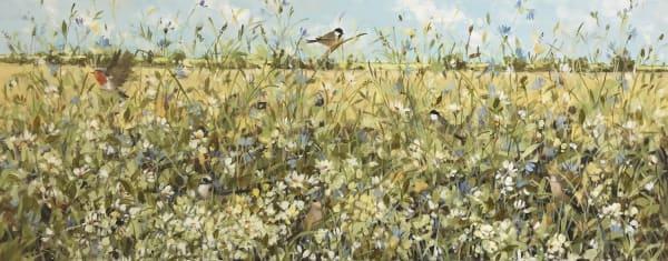 Fletcher Prentice, Summer Wheat Fields, 2019