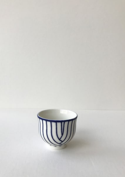 Rhian Malin, Layered Lines Teacup, Small