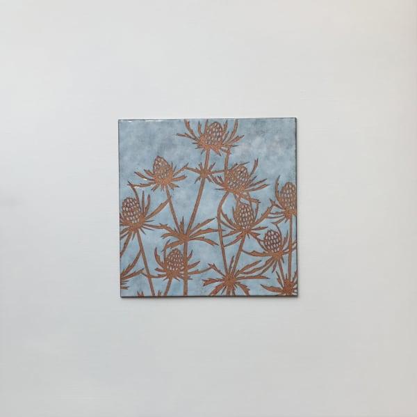 Janine Partington, Teasels, Medium panel