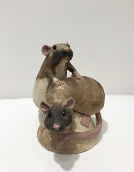 Virginia Dowe Edwards, Two Rats