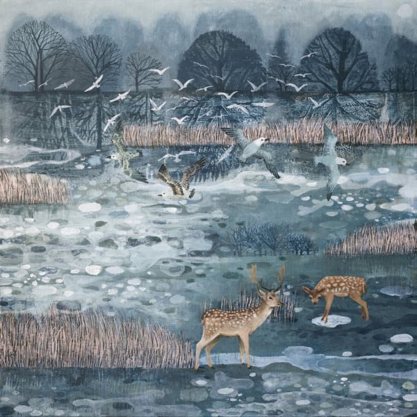 Dawn Stacey, Morning Walking On Ice