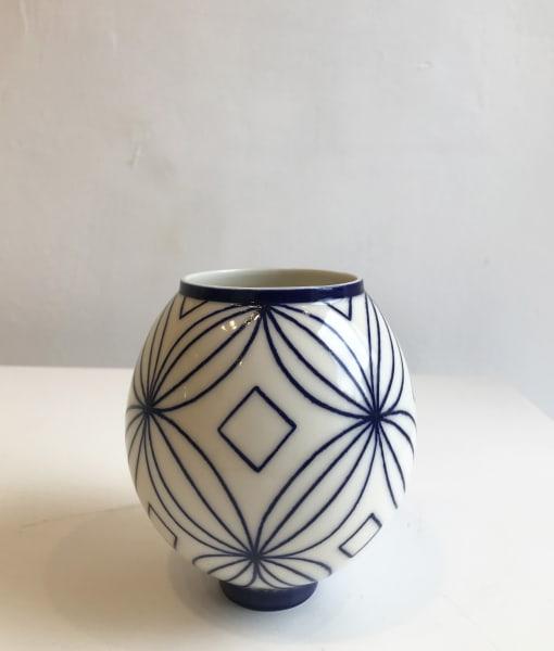 Frangipani Moon Jar, Small