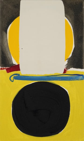 Henrietta Dubrey, Yellow Eclipse, 2017