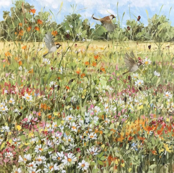 Fletcher Prentice, Meadow Sparrows, 2019