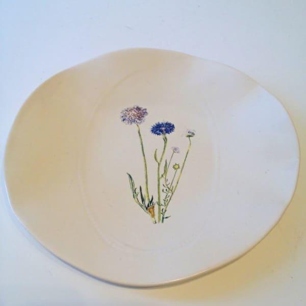 Flowers, Medium Plate