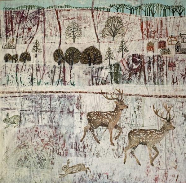 Dawn Stacey, Snow Tracks