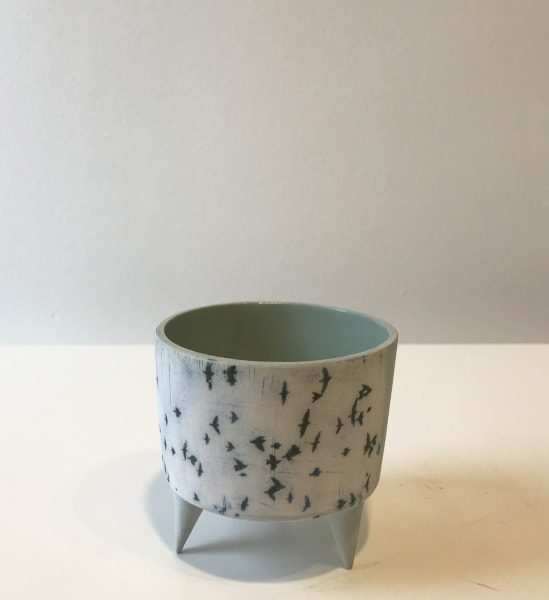 Murmurations, small vessel with feet