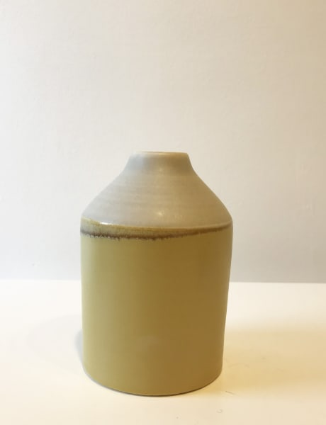 Wide Yellow Two-Tone Bottle