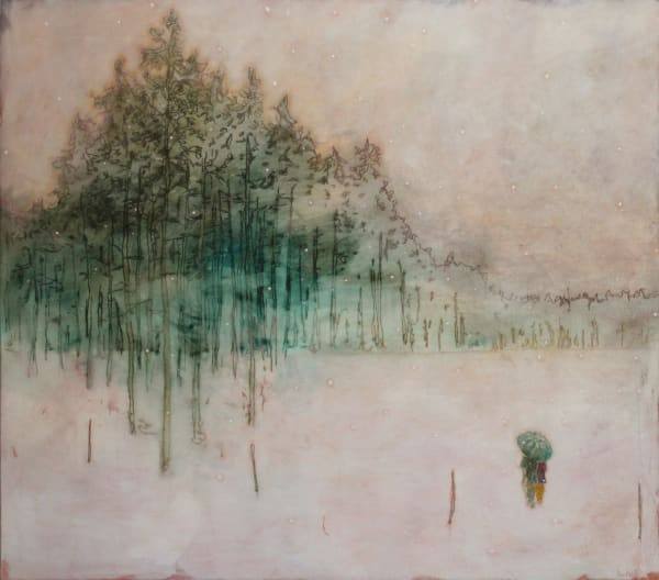 Daniel Ablitt, Winter Walk (Treeline), 2019