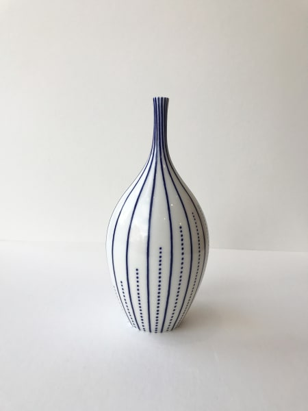 Rhian Malin, Twisted Lines With Dots Bottle, Medium