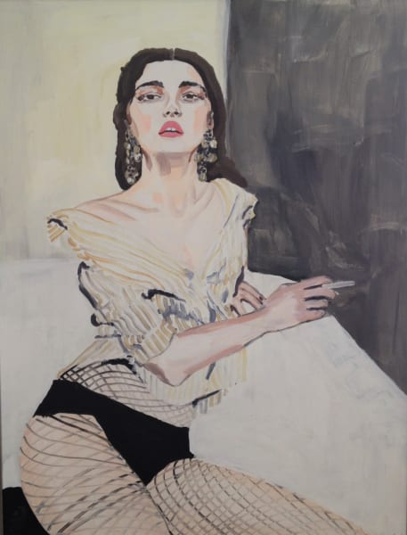 Veronica Wells, Waiting For Tonight, 2018