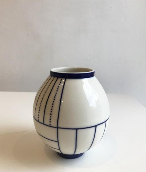Geometric Moon Jar, Small