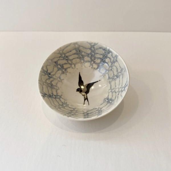 Fliff Carr, Blue Single Swallow Treasure Bowl, 2019
