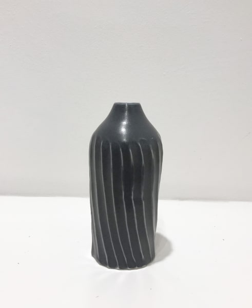 Linda Bloomfield, Medium Dark-Grey, Fluted Bottle