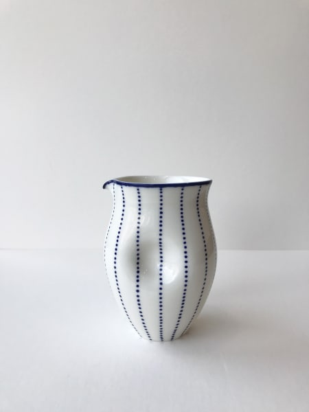 Rhian Malin, Dotty Round Dimple Jug, Medium