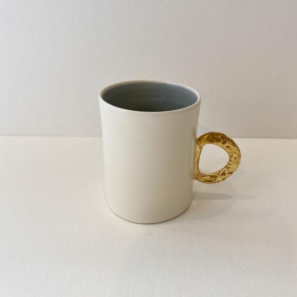 Fliff Carr, Espresso Gold Handle Blue Interior, 2019