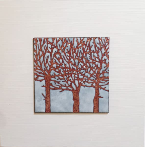 Trio of Trees, Small panel