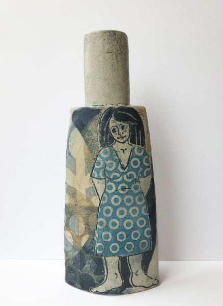 Mollie Brotherton, Cybele Bottle, Blue, 2020