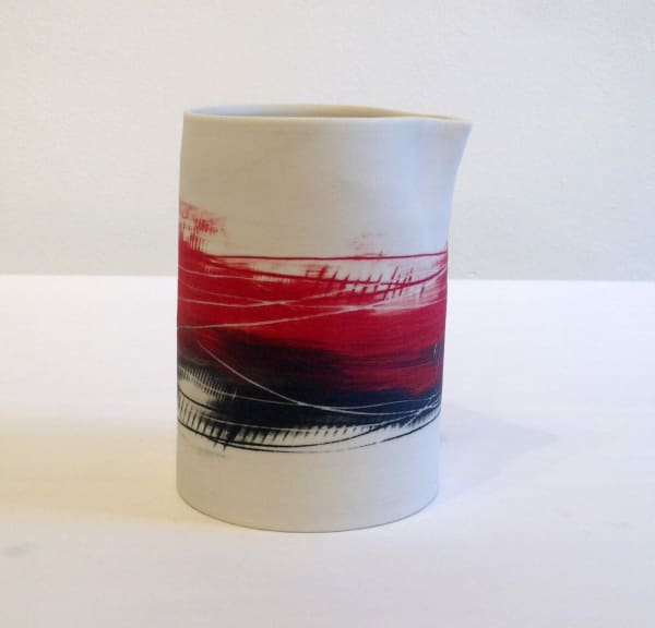 Jug - Red and Black