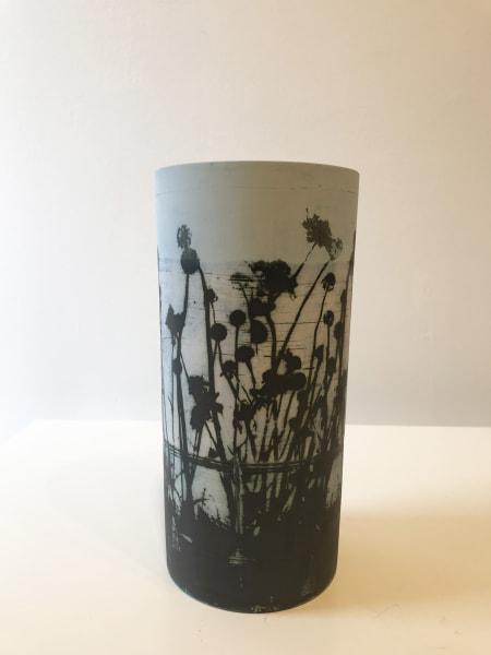 Sky Flowers, tall vase