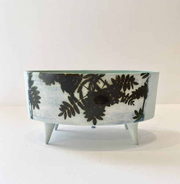 Kit Anderson, Skyleaves, Oval vessel with feet