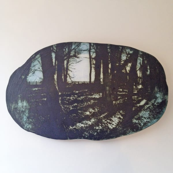 Kit Anderson, Into The Woods Wall Plaque, 2019