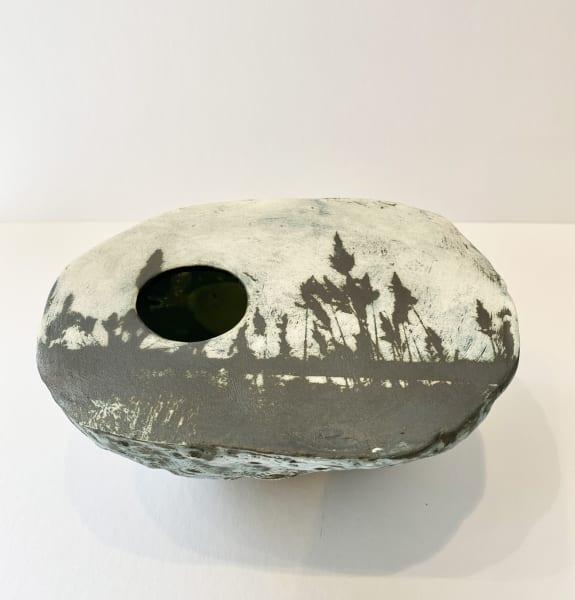 Kit Anderson, Glenkiln Cross, Large pebble planter