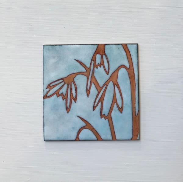 Janine Partington, Snowdrops, Small panel