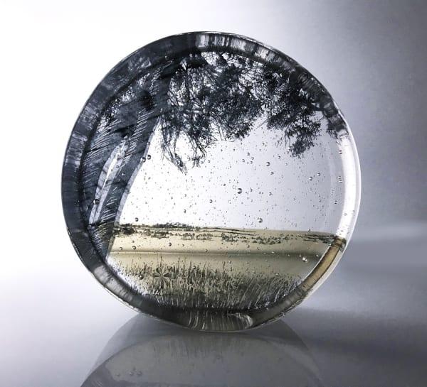 Helen Slater, Field's Edge, Bronze and Black