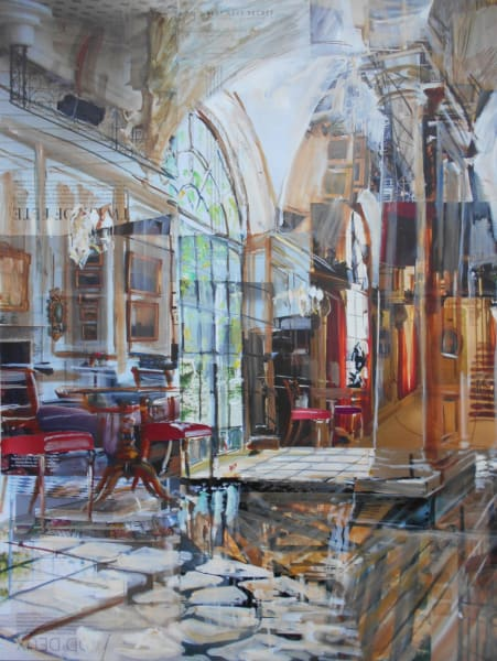 Alison Pullen, Merchant Taylors Hall, Cloisters, 2019