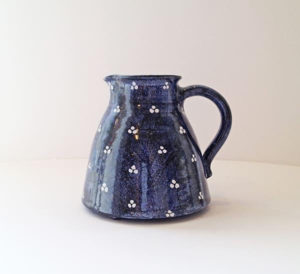 Tydd Pottery, Jug - Tri Spot, Small , 2019