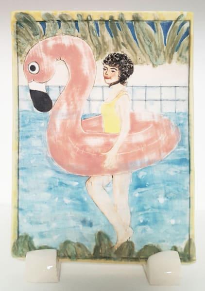 Clare Nicholls, Pink Flamingo, 2020