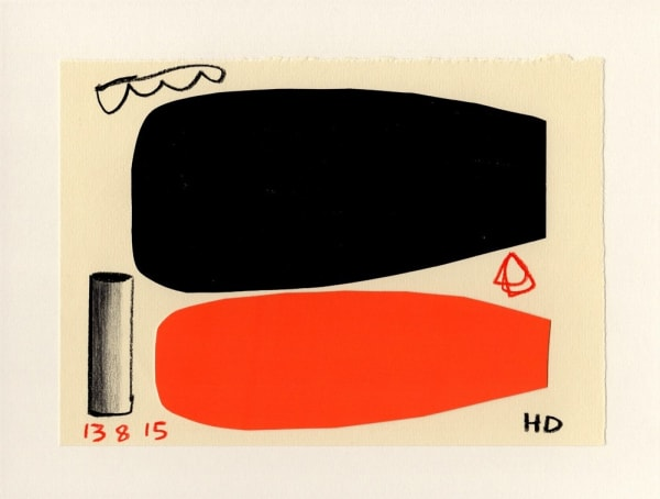 Henrietta Dubrey, Fifty Drawings II No.47, 2015