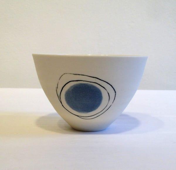 Small Bowl - Grey Circle