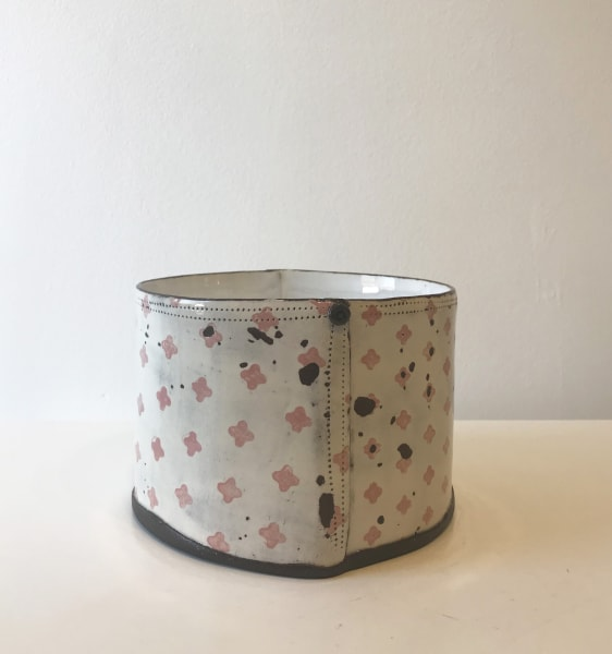 Pink Cross, Cylindrical Vessel