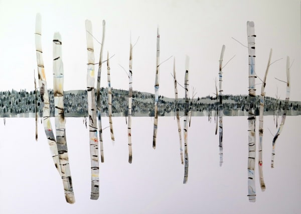 Kate Evans, Distant Forest Beyond the Birch