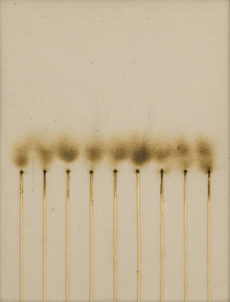 Bernard Aubertin, Dessin de feu , 1974