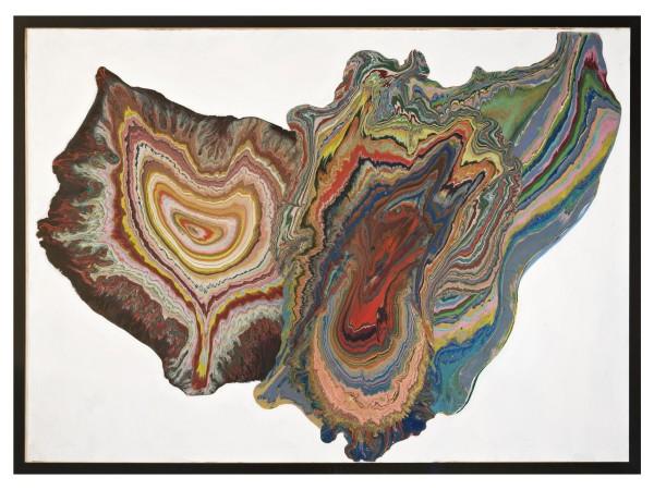 Shozo Shimamoto, White whirpool, 1965