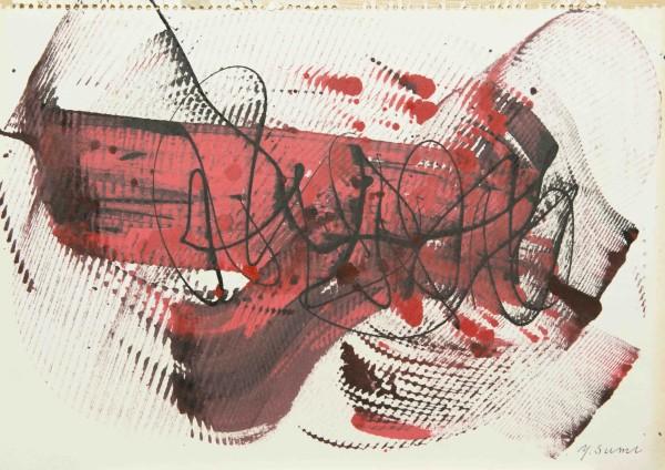 Yasuo Sumi, Untitled, 1958
