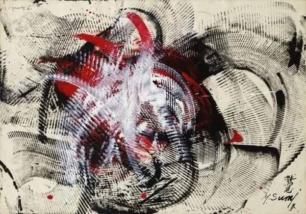 Yasuo Sumi, Untitled, 1965