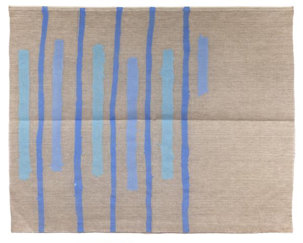 Giorgio Griffa, Verticale blu, 1978