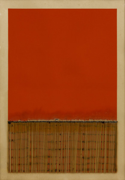 Bernard Aubertin, Dessin de feu, 1974