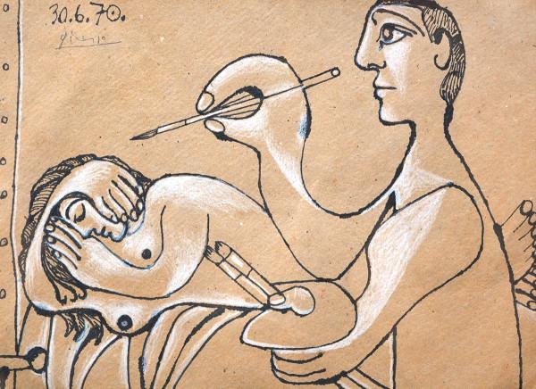 Pablo Picasso, PP 9, 1970